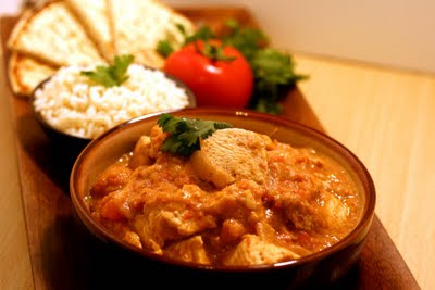 The tampa personal chef blog indian butter chicken recipe and the origins of indian cuisine - Herve cuisine butter chicken ...