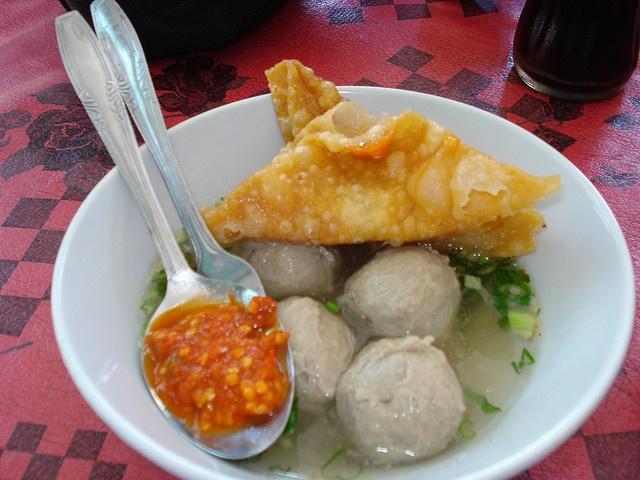 Indonesian food - Bakso pasar Sukowati