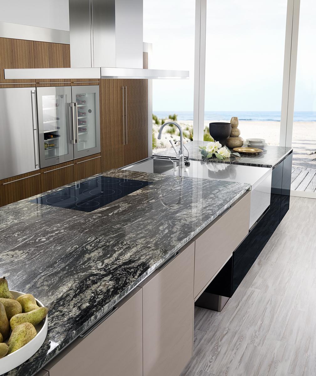 Kuher encimeras de cocina en zaragoza silestone compac for Colores de granito para encimeras de cocina
