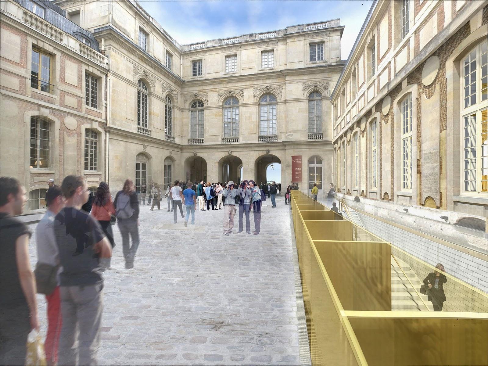 Château De Versailles Architectes : a f a s i a dominique perrault ~ Nature-et-papiers.com Idées de Décoration