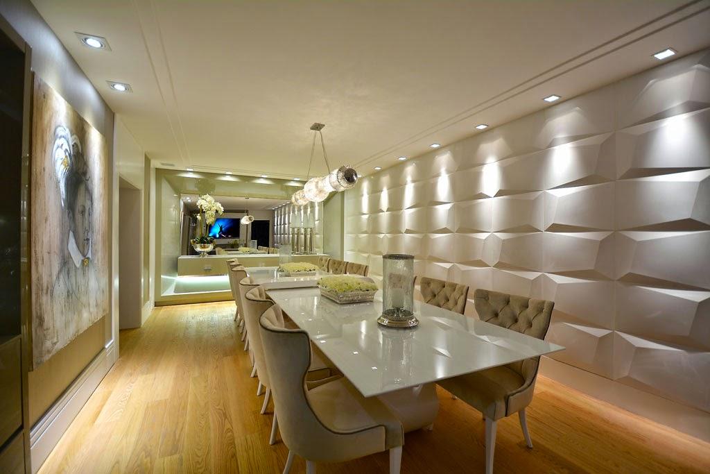 Sala De Jantar Branca De Luxo ~ Salas de jantar brancas e off whites  veja modelos lindos e dicas de