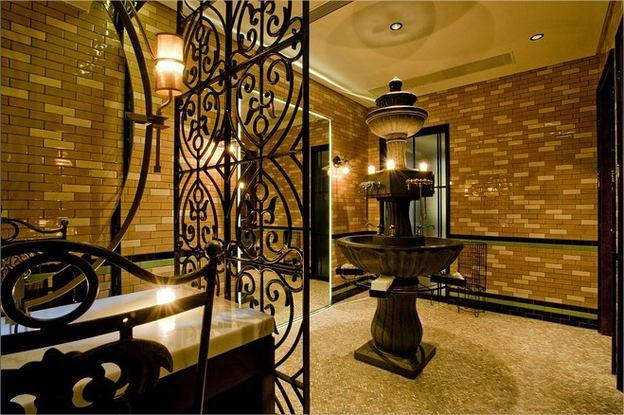 Natália Pauletti Diferentes Banheiros para Restaurante -> Decoracao De Banheiros De Restaurantes