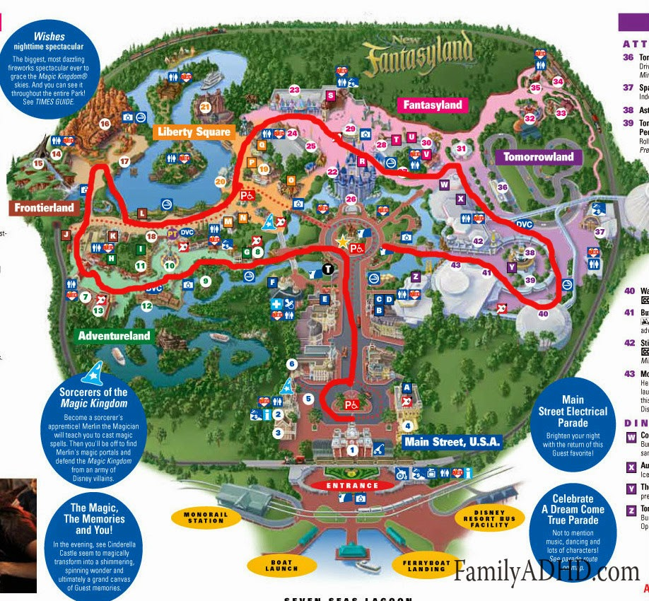Magic Kingdom Map 2015 Orlando 2015 Day 2 Magic Kingdom