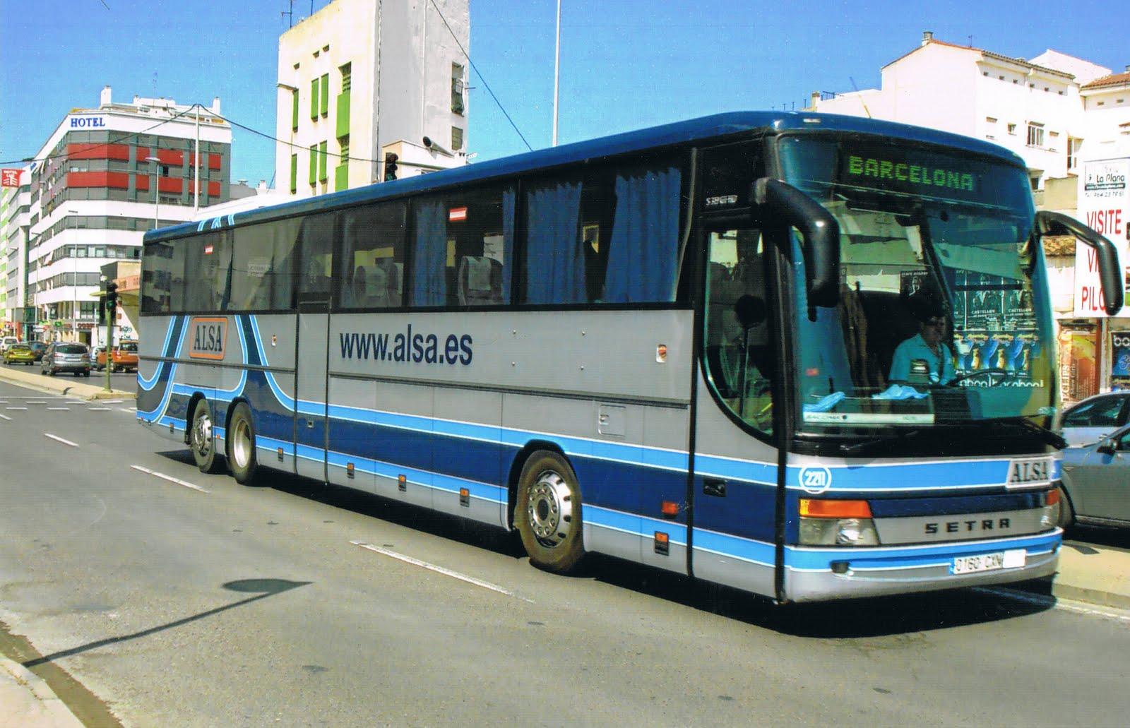 Las paranoias de misaoshi febrero 2011 - Autobuses larga distancia ...