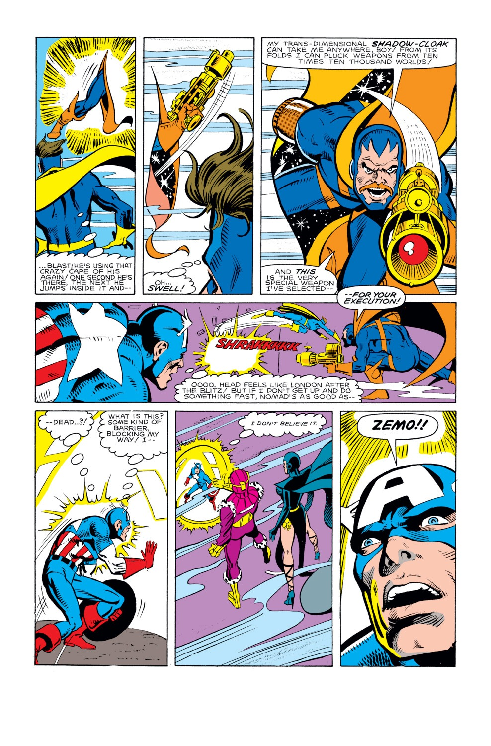 Captain America (1968) Issue #294 #222 - English 5