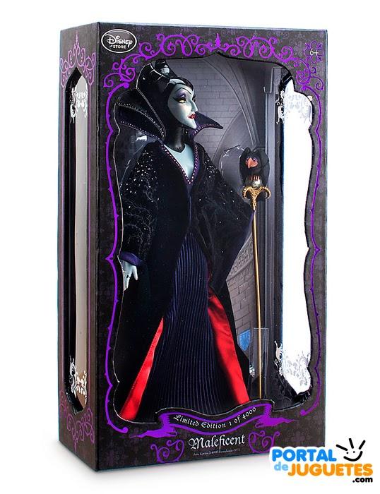 muñeca malefica edicion limitada disney store caja
