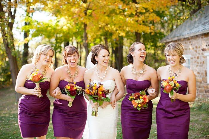 Hot Pink Beach Wedding Dresses
