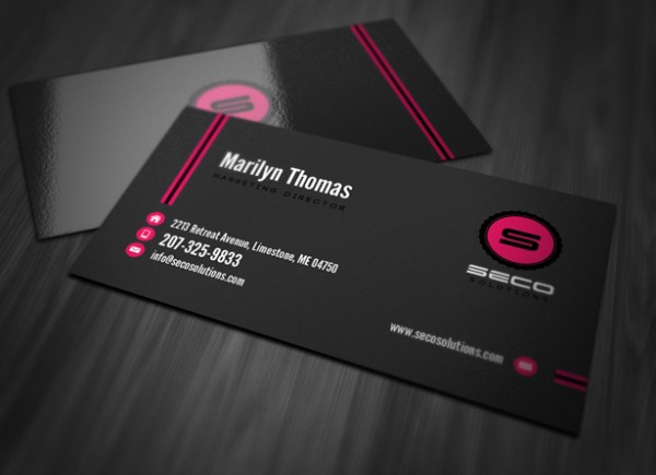 29) Business Card