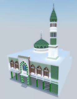 Rencana Gambar Masjid Jami Al Barokah