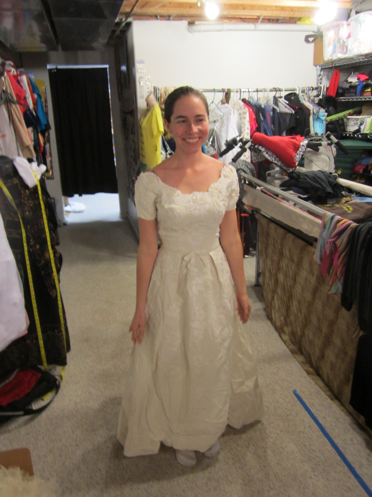 Recycling Wedding Dress 92 Perfect The necklace she is