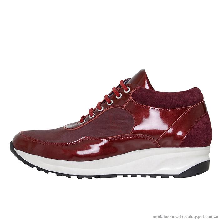 L'Tau zapatillas de mujer otoño invierno 2015.