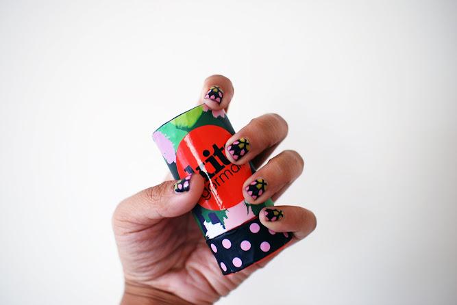 Kit Gormon Nail Strips Moroccan Jacquard