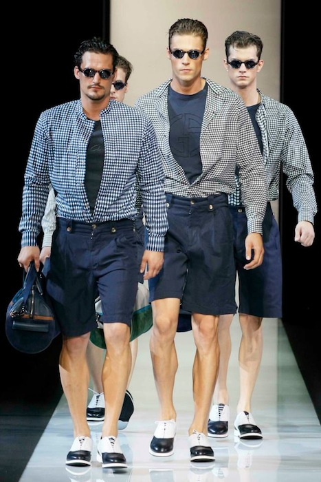 Giorgio Armani Spring-Summer 2013 Sunglasses for men
