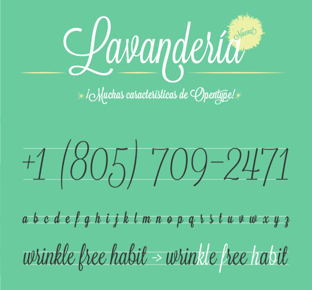 Download Kumpulan 30 Font Script Desainer grafis - Lavendaria Script Font