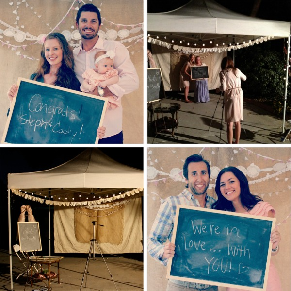 jennifer paul diy wedding photo booth