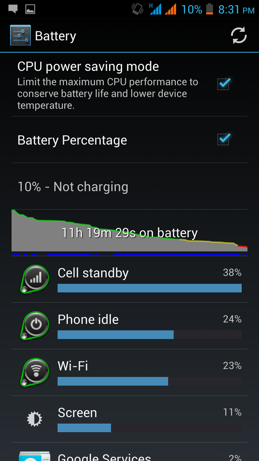Starmobile OCTA Review, Octa-Core Android, Battery