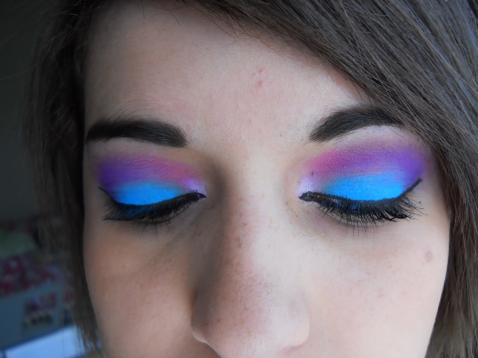 Rave girls makeup