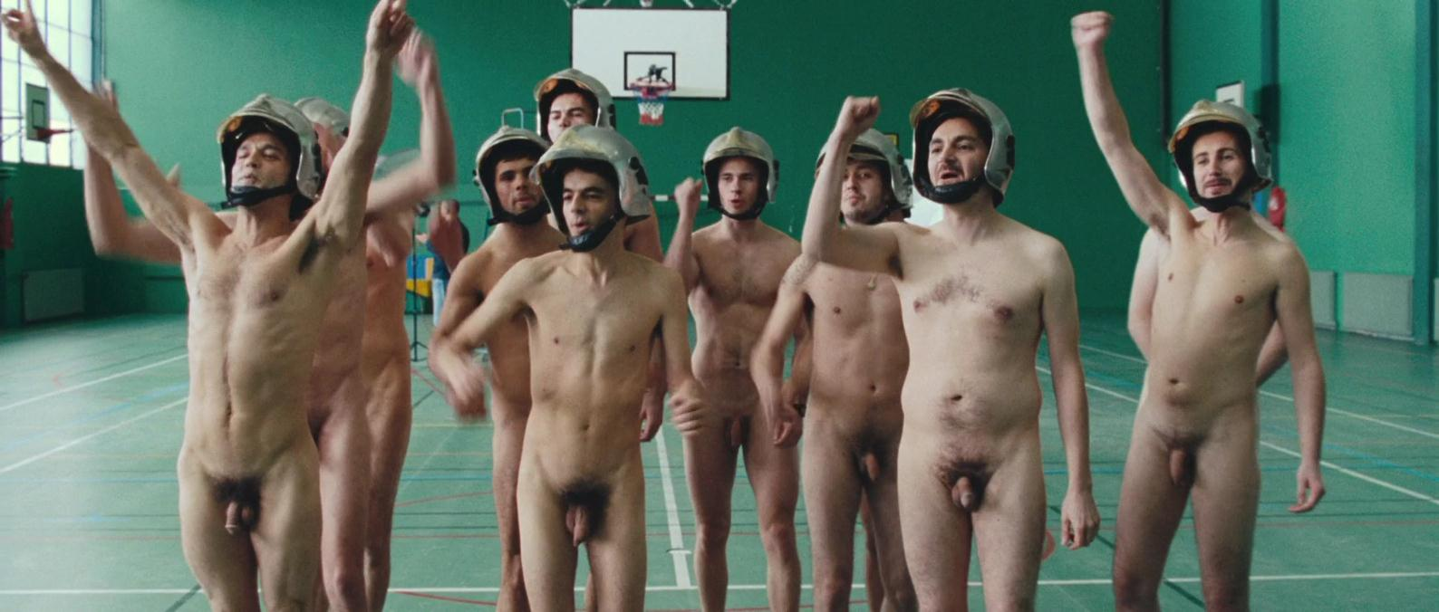 Xander7: Naked Firemen Extras in French Movie Poupoupidou