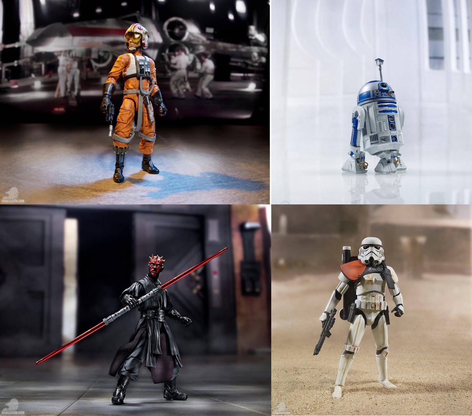 2013 Hasbro ® star wars ® mission série double pack 3,75 pouces personnages