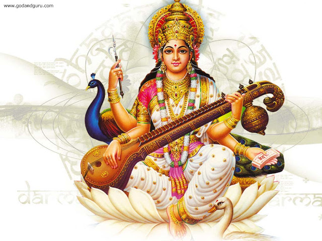 Goddess Sharada Prayer Saraswati Shankaracharya