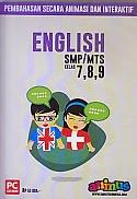 toko buku rahma: buku CD PEMBELAJARAN SMARTEDU SMP/MTS  ENGLISH Kelas 7,8,9, pengarang smart edumedia