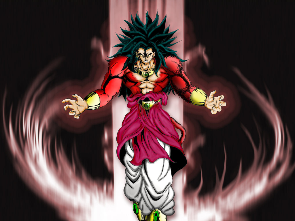 Dragon ball z wallpapers broly super saiyan 4 - Super sayen 10 ...