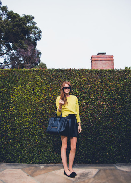 Look To Love: Yellow and Leather