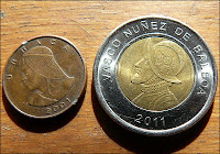 Balboa the coin in Panama