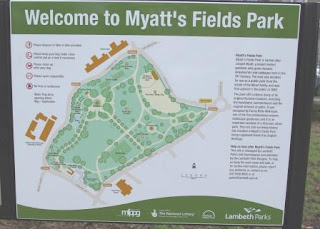 Myatts Fields Park sign on vassallview.com