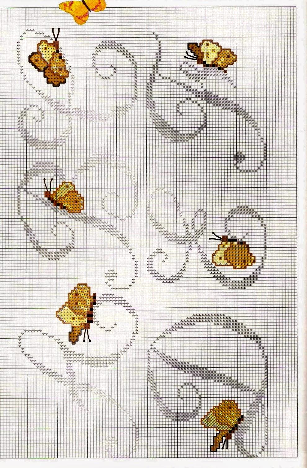 Grande raccolta di schemi e grafici per punto croce free for Ricamo punto croce lettere