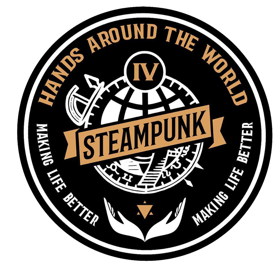 Steampunk Hands Around The World