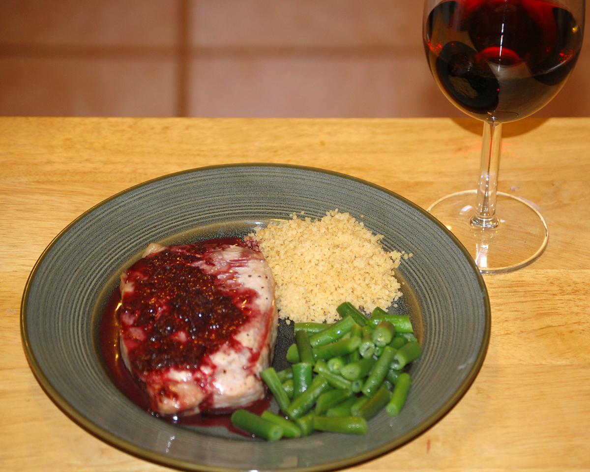 Pork sauce recipe red wine