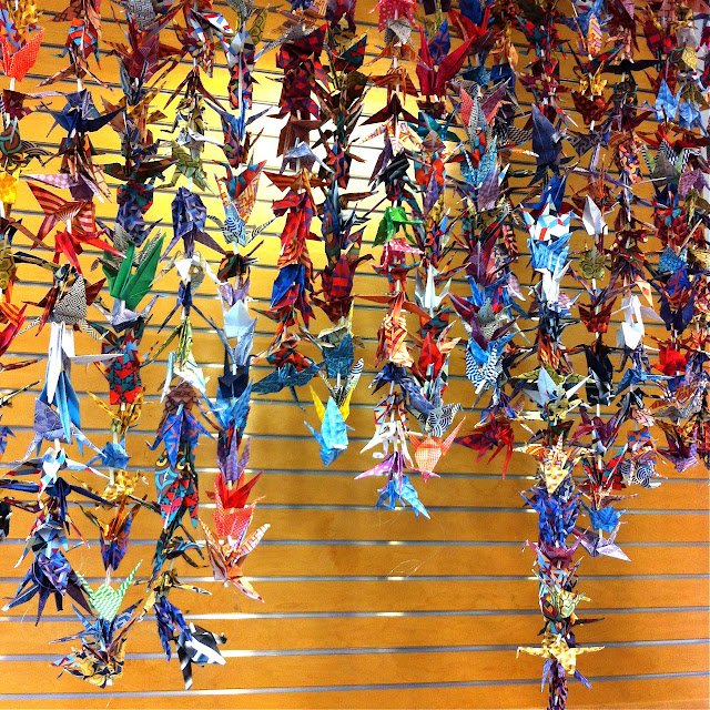 One Thousand Paper Cranes, 1,000 paper cranes, paper cranes, origami, origami paper cranes, origami cranes