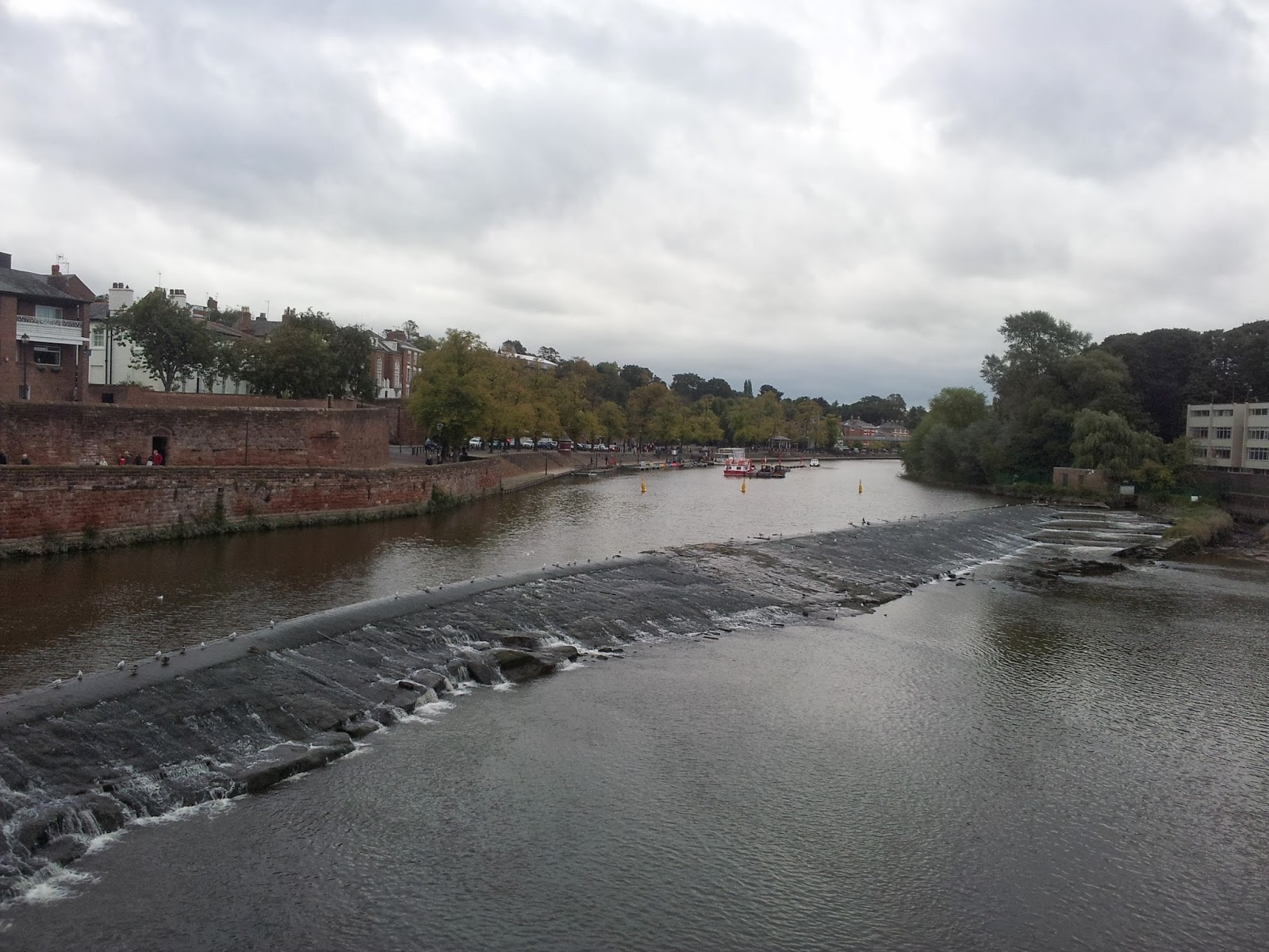 River Dee in Chester, England