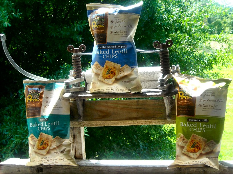 WIN Mediterranean Snacks Baked Lentil Chips � review & Facebook ...