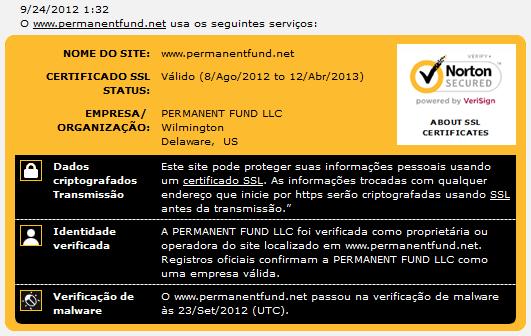Permanent Fund - permanentfund.net Pf-certificados
