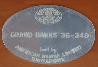 grand banks 36, hull 349, tin hau goddess of the sea