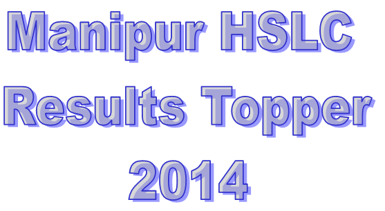Manipur 10th Result 2014