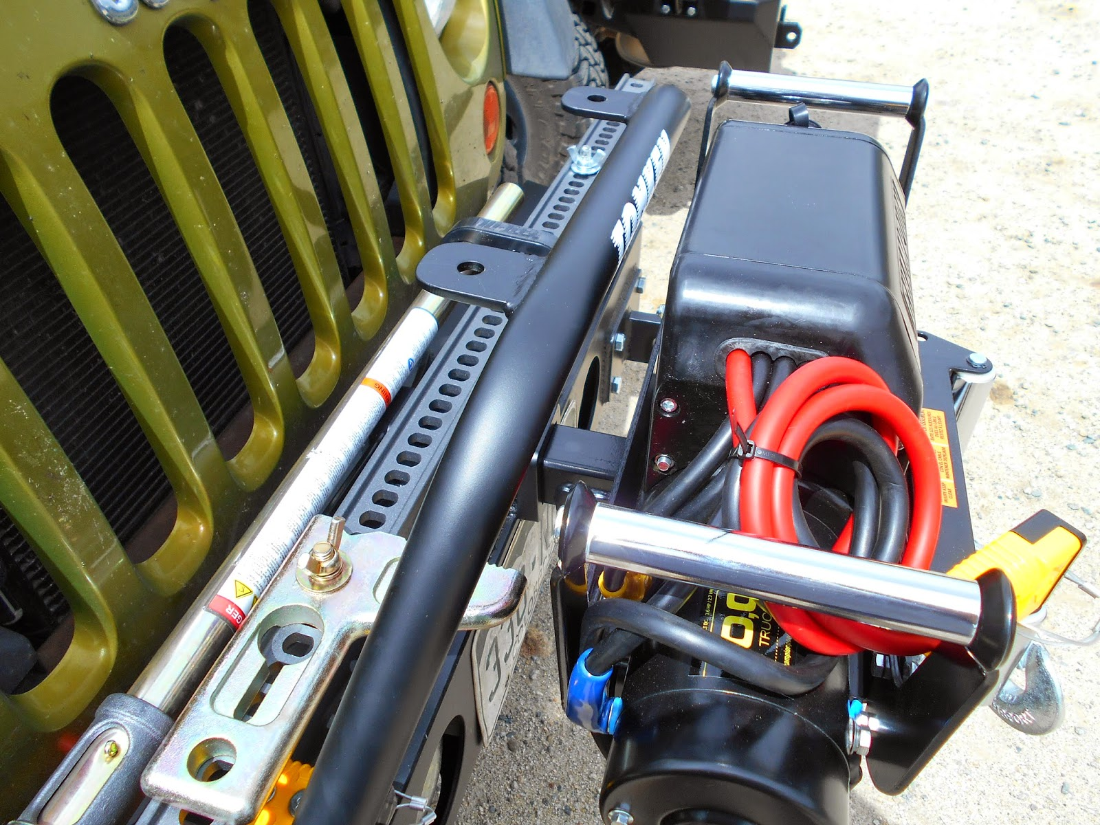 how to use hi lift jack as winch