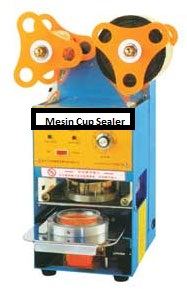 Mesin Cup Sealer (Pencetak Penutup Gelas/Cup)