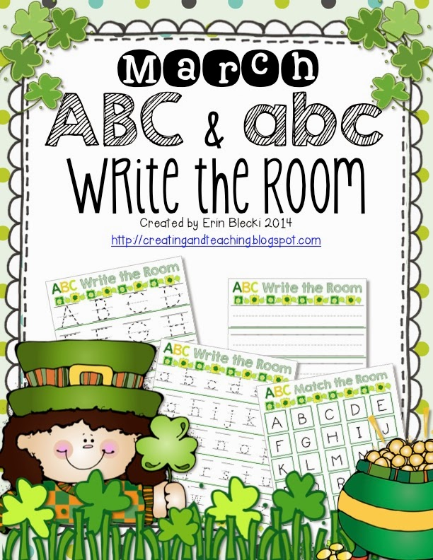 http://www.teacherspayteachers.com/Product/March-ABC-abc-Write-The-Room-1121894