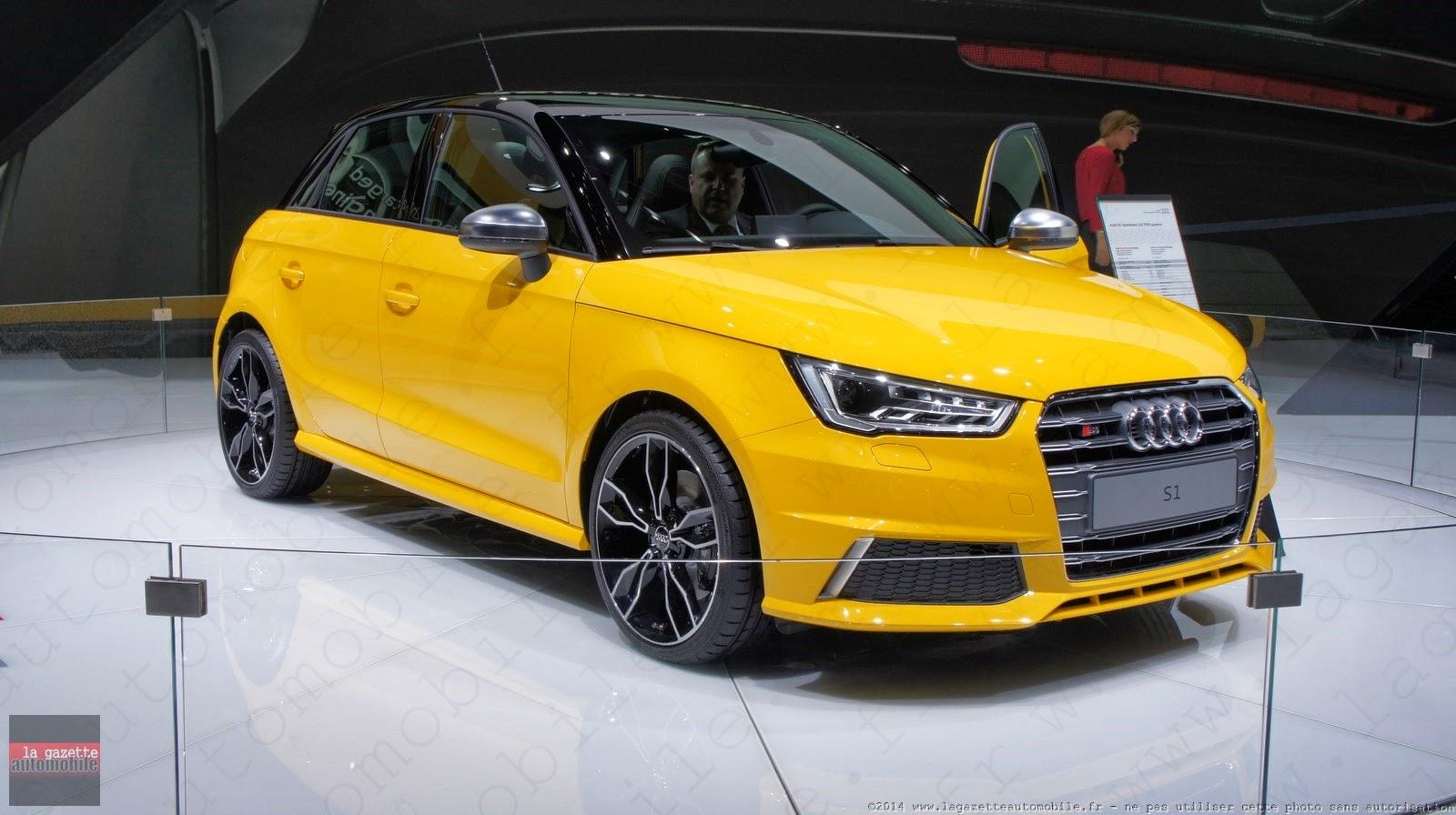 Genève : Audi S1