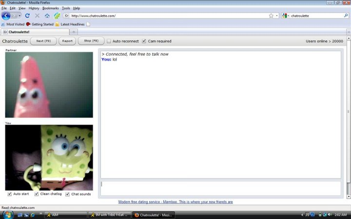 chatroulette girl meet