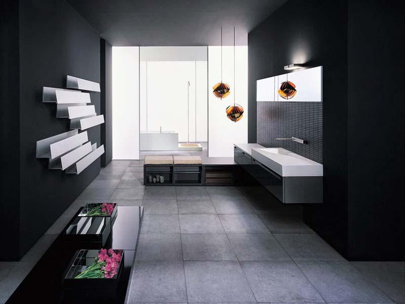 Desain Interior Kamar Mandi Minimalis Modern | Design ...