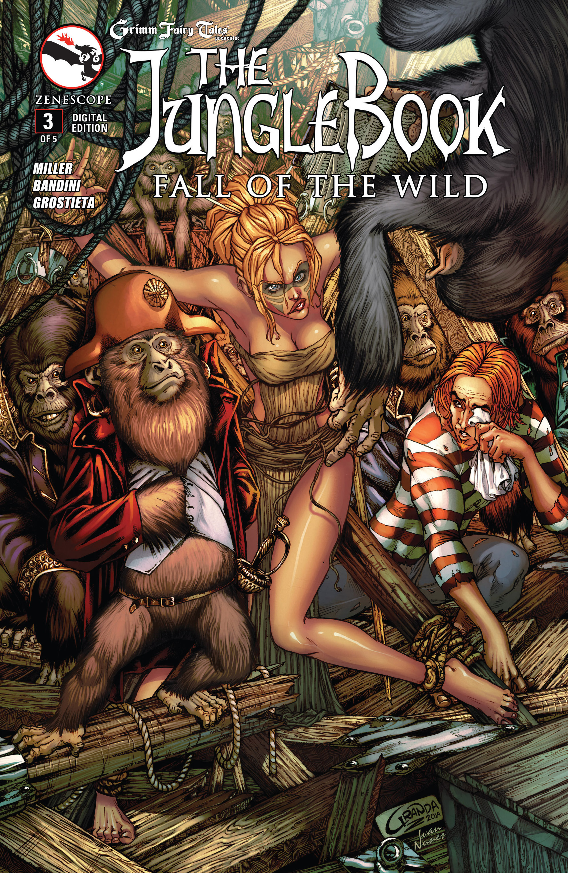 Grimm Fairy Tales presents The Jungle Book: Fall of the Wild 3 Page 1