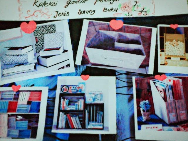 1a. Koleksi pelbagai jenis sarung buku