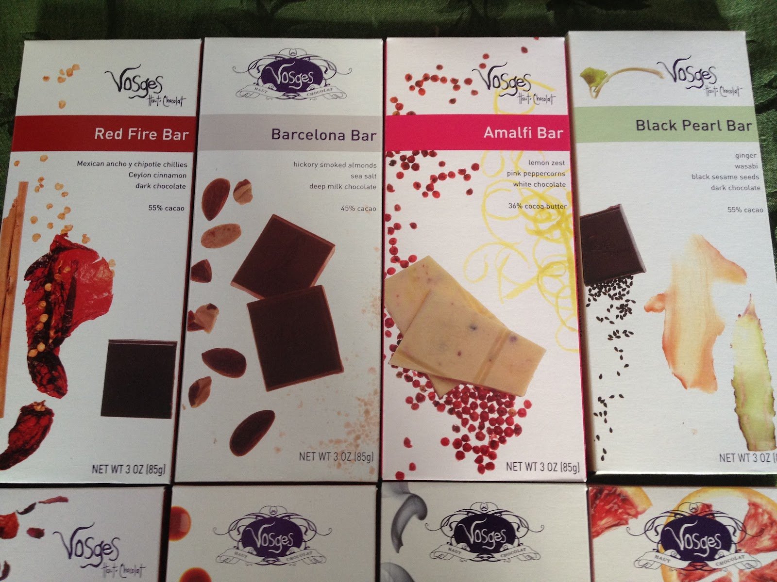 Food's on my mind.: Vosges Chocolate and Columbine Cookies