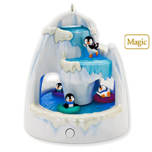 Hallmark Frosty Falls 2010 magic ornament