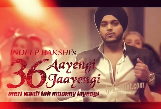 36 Aayengi 36 Jayengi by Indeep Bakshi