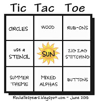June Tic Tac Toe